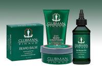 Clubman Pinaud Beard Balm, No Bumps Gel, 2-in-1 Beard Conditioner