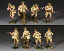 KING & COUNTRY FIELDS OF BATTLE FOB154 BRITISH TOMMIES ATTACKING MIB