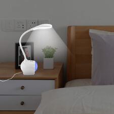 Multi-color Usb Charger Base Desk Lamp Touch Sensor Led Table Light Reading Lamp