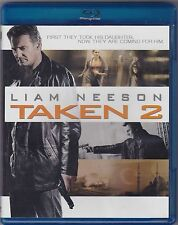 TAKEN 2 (Blu-Ray Disc) <<<BRAND NEW and SEALED!!!>>> (FREE SHIPPING!!!)