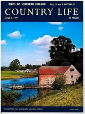 Country Life Magazine Birds Of Southern Finland June 9 1977 Birthday Gift