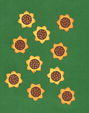 Quickutz Summer Sunflowers Die Cut Embellishments, 10 per pkg.
