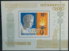 Hungary 1969 SG#MS2430 Olympic Games MNH M/S #D2581
