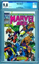 MARVEL AGE #12 CGC 9.8 NM/MT Pre-dates Amazing Spider-Man 252 & Secret Wars 8