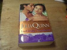 The Lost Duke of Wyndham by Julia Quinn   2008  r