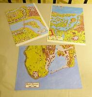DSA Das Schwarze Auge Zubehör 3 Karten Städte