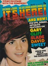 IT'S HERE AND NOW # 13  (1973) Donny Osmond The Sweet Gary Glitter Slade