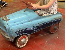 Murray Champion Pedal Car 1950s Vintage Blue