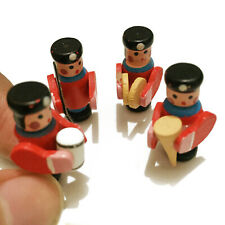Dollhouse 4Pcs Children RoomPlayroom Toy Military Band Set Miniature Decor