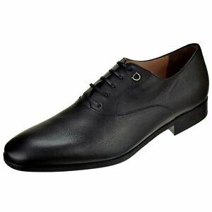 Ferragamo Men's Shoes Toulouse Plain Toe Oxford