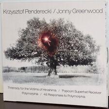 NONESUCH CD: Penderecki: Threnody Victims Hiroshima; Polymorphia; J. GREENWOOD