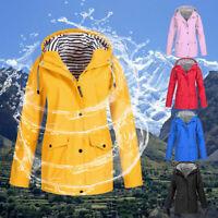 Women's Jacket With Pockets and Hood Coats Outdoor Mountaineering Wear Coat US