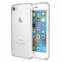 Shockproof 360° Silicone Protective Clear Case Cover For iPhone X 5S 6S 7 8 Plus