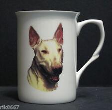 English Bull Terrier Dog (Head BF) Fine Bone China Mug Cup Beaker
