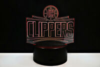 Los Angeles Clippers LA Paul George Kawhi Leonard Light Lamp Collectible Gift
