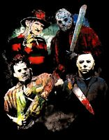 Horror Classic T Shirt Colored