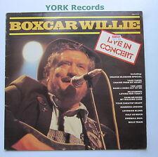 BOXCAR WILLIE - Live In Concert - Excellent Con LP Record Hallmark SHM 3137