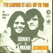 DONNY & MARIE OSMOND 45 TOURS BELGIQUE I'M LEAVING IT