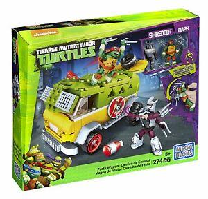 Teenage Mutant Ninja Turtles - Van Turtle Party Kit Dmx54 Mega Bloks