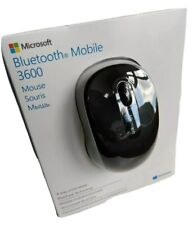 Genuine Microsoft Bluetooth Mobile 3600 Wireless Mouse Black