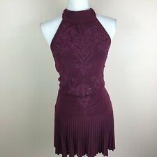Twenty One Womens Size Medium Dark Purple Dress