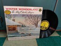 The Ray Charles Singers LP Winter Wonderland MGM E3387 Rare Christmas