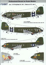 Foxbot Decals 48017A 1/48 C-47 Skytrain Pin-Up Nose Art Decal Set