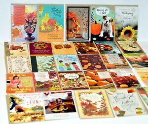 38 New! Cards & Envelopes Thanksgiving Fall Friendship Family Thanks Giving