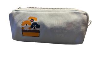 Pencil Case Big Zipper Cute Pen Pouch Large Capacity Colorful Bag for Students