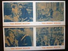 R62/1934 MERRY WIDOW 8 LC SET CHEVALIER + MacDONALD