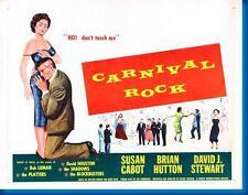Carnival Rock Movie Poster24in x 36in
