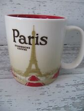 STARBUCKS COFFEE MUG PARIS 2012   EXCELLENT CONDITION