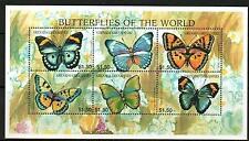 GRENADA GRENADINES 1997 BUTTERFLIES  MNH  SHEETLET 6  Series 3  [#1530]