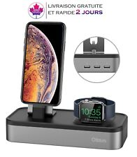 Apple support pour iphone, iWatch, 5-Port USB batterie station d'accueil