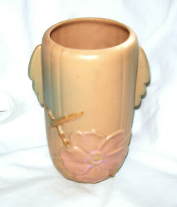 Weller: Wild Rose Dogwood, Pink Flower Ceramic Vase