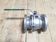 "3"" INLINE INDUSTRIES 209F-F6666-CTAA-2S 150# Stainless Full Port Ball Valve NEW"