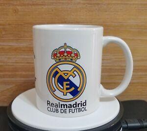 Real Madrid FC Tee Becher Kaffeebecher-ideal f/ür Weihnachten Geburtstag Geschenkidee Herren und Jungen