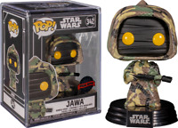 Jawa Futura Star Wars Funko Pop Vinyl New in Mint Box + Protector