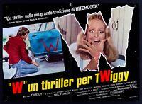 T105 Fotobusta W un Thriller Per Twiggy Michael Witney Eugene Roche