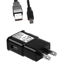 Wall charger Ac adapter + Usb cable For Panasonic Lumix Dmc Zs40 digital camera