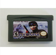 Nintendo GBA Video Game Console Card Cartridge Ice Nine