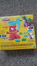 Play-Doh Marvel Can-Heads Featuring Spider Man and Green Goblin New