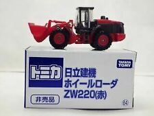 Tomica Hitachi Construction Machinery Wheel Loader ZW220 Red