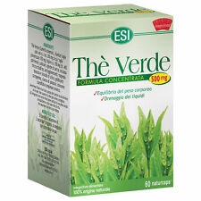 ESI THE VERDE GREEN TEA 60 CPS 500 mg HELPS TO CONTROL BODY WEIGHT