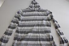 Hang Ten Long Sleeve Stripe Hooded Shirt Medium M Surf