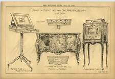 1900 Group Of Furniture From The Jones Collection Marie Antoinette Table
