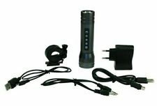 Magic Music Torch Bicycle LED Flashlight With Alarm - Bike Light with MP3 Player