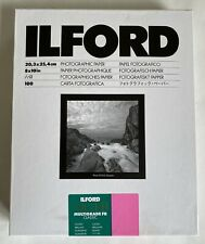 Ilford Multigrade Fibre Base 10x8 Gloss Paper - 100 Sheets