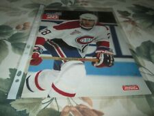1992-1993 MONTREAL CANADIENS POSTER COLOR 8 BY 11 ERIC DESJARDINS