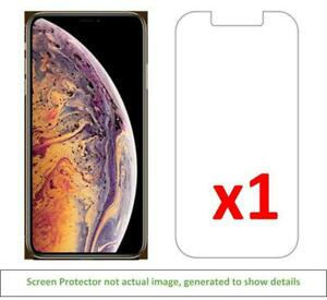 1x iPhone Xs Max Anti-Scratch Screen Protector w/ cloth